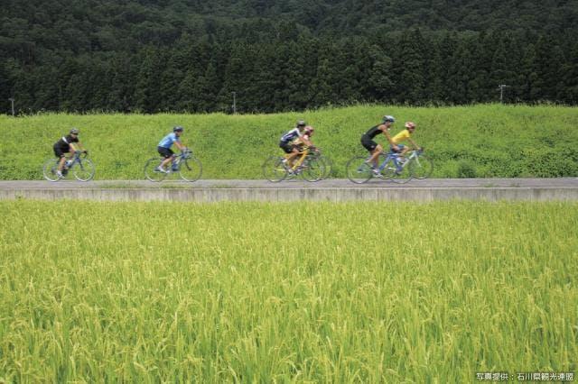 サイクリング手取川キャニオンロード