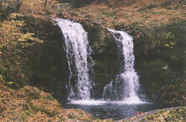 小佐野の滝