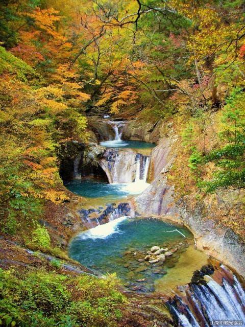 七ツ釜 五段の滝