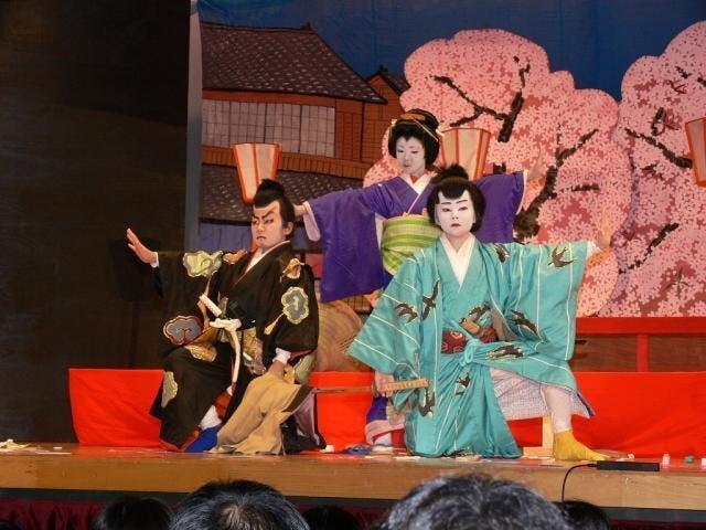 東白川村歌舞伎