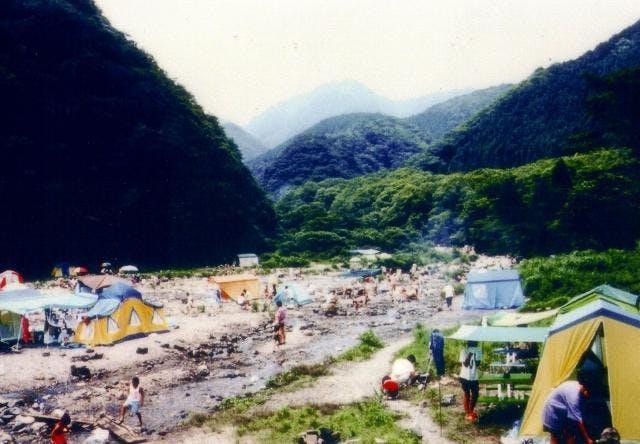 宮妻峡キャンプ場