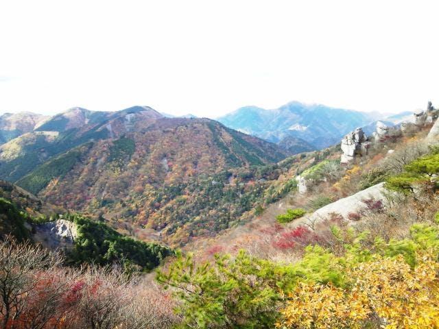 山頂(滋賀県側)