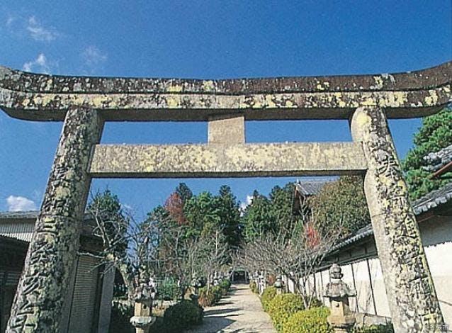 名居神社参道入口