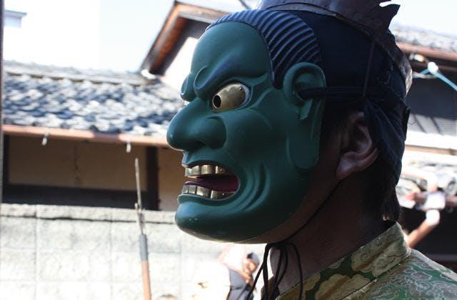 上野天神祭鬼行列