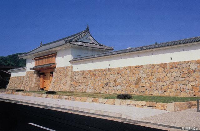 田辺城城門
