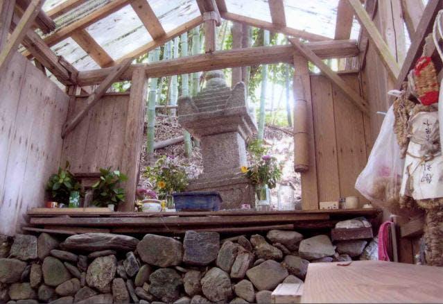 切林の宝篋印塔