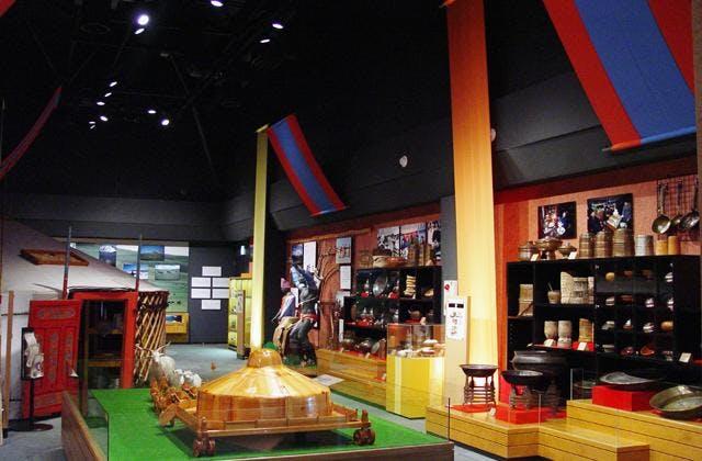 日本・モンゴル民族博物館館内