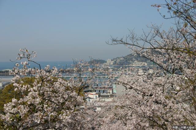 紀三井寺から和歌浦を望む