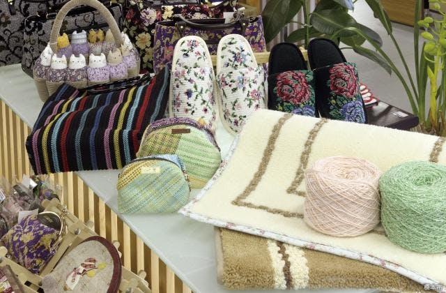 パイル織物製品