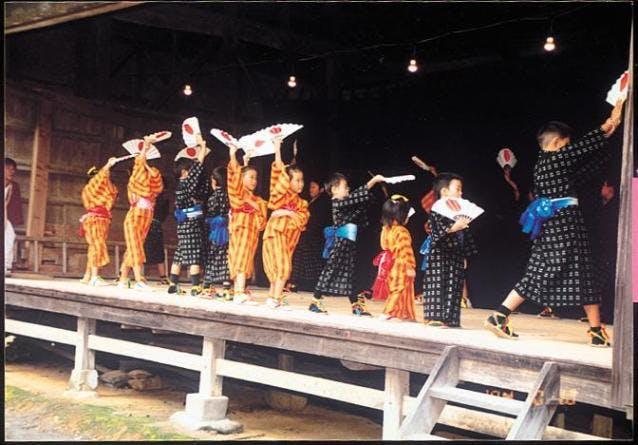 岩代の子踊り
