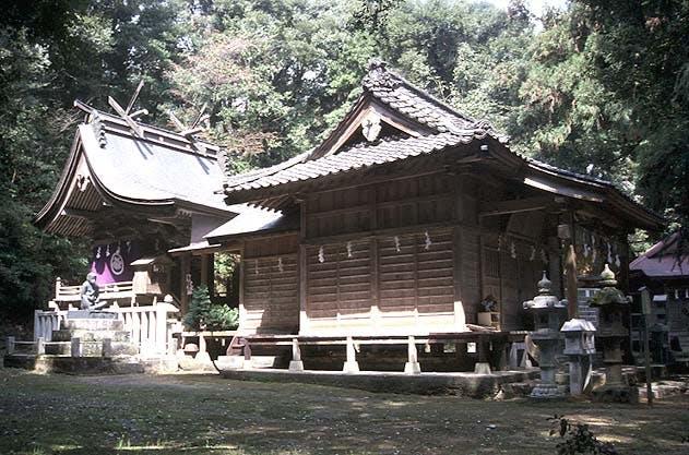 日吉神社/(布勢の山王様)