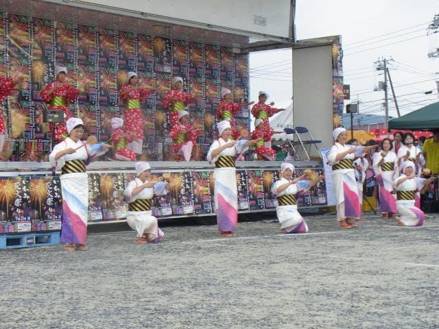湯かむり唄踊り2