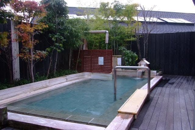 檜の露店風呂