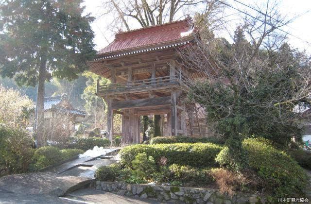 長江寺 正門