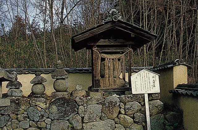 伝源為朝の墓