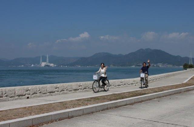 大久野島サイクリング