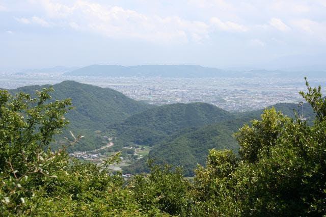 徳島平野(展望所より)