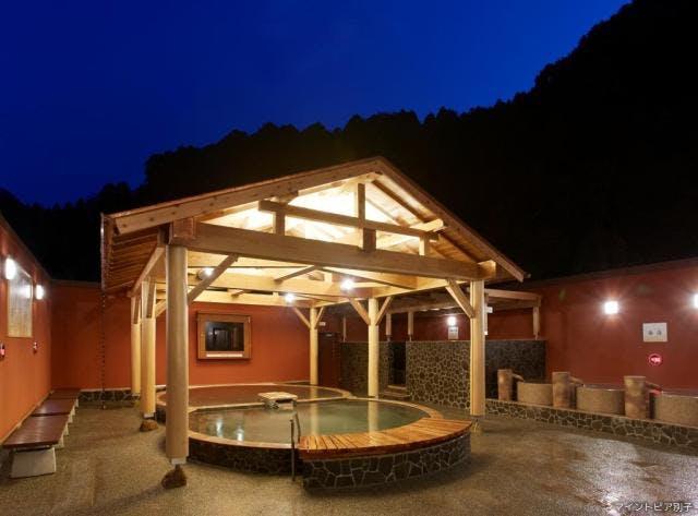 木の湯露天風呂