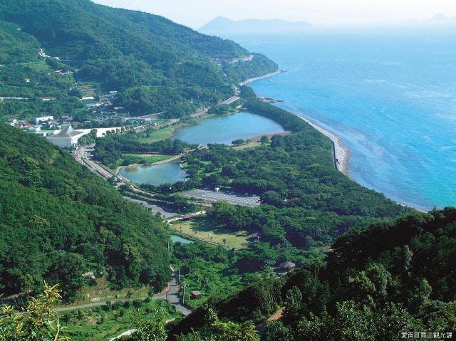 須ノ川公園全景