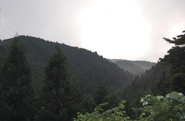 嘉穂アルプス九州自然歩道からの風景