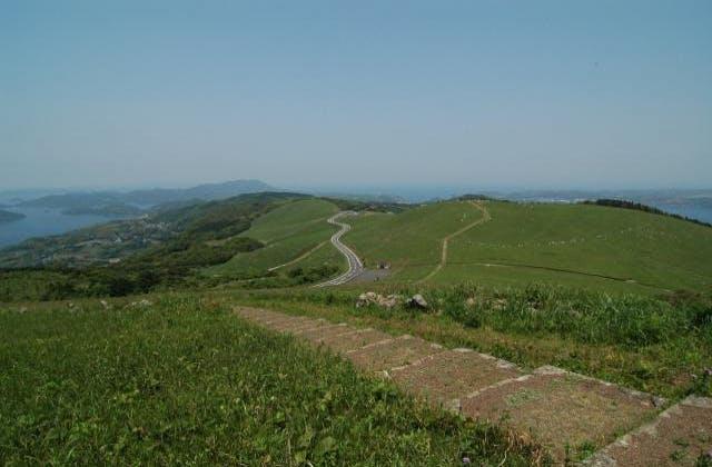 川内峠草原ハイキングコース