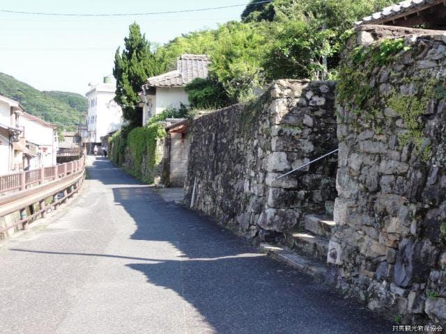 武家屋敷石垣