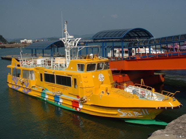 グラスボート「シーガル」