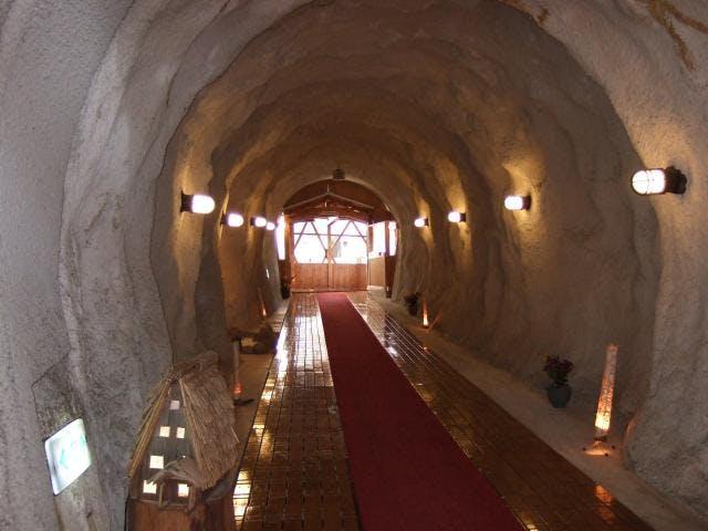 洞窟トンネル