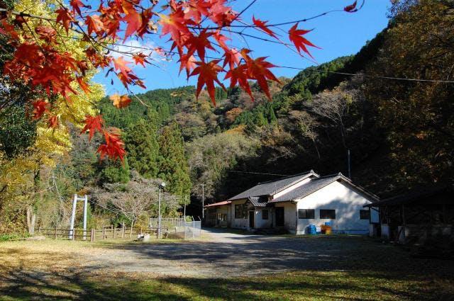 尾寄崎キャンプ場(秋)