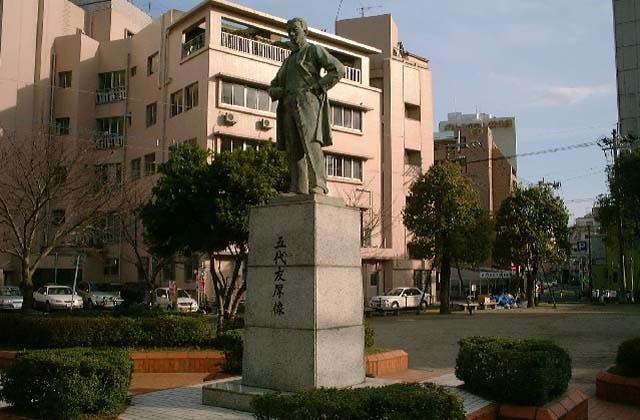 五代友厚銅像
