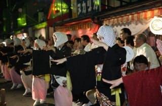 毛馬内の盆踊