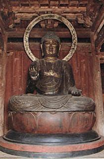 木造丈六阿弥陀如来坐像