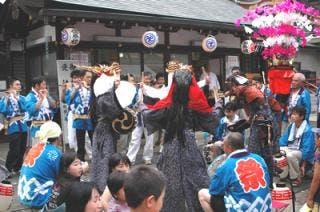清戸の獅子舞