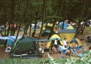 角田浜キャンプ場
