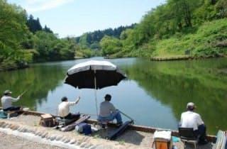 下条川ダム・へらぶな釣り