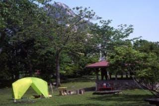 白馬山麓国民休養地(高浪の池キャンプ場)