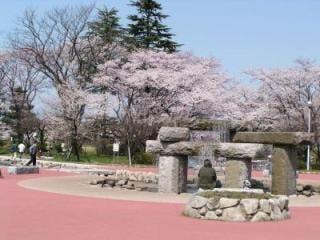 粟島公園桜