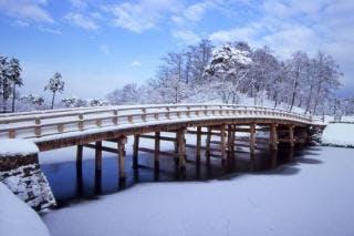 冬の高田公園