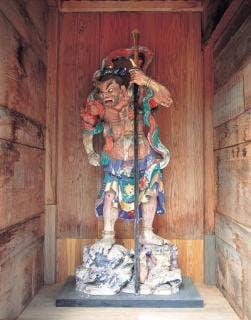瑞祥庵の仁王像