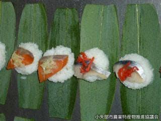 笹寿司作り