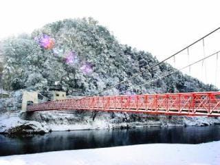 美濃橋 冬