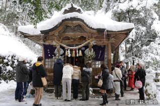 金持神社初詣