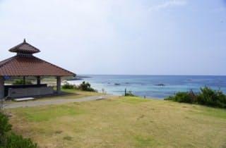 角島大浜キャンプ場3