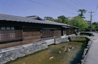 藍場川(川島)