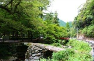 大寧寺 盤石橋