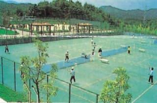 蜂ヶ峯総合公園庭球場
