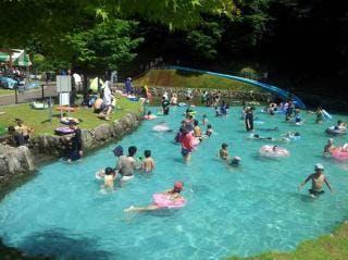 キャンプ村遊水施設