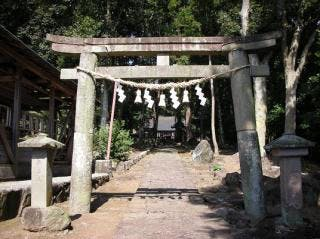 八津島神社の二の鳥居