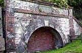 旧北炭夕張炭鉱 採炭現場坑道入口